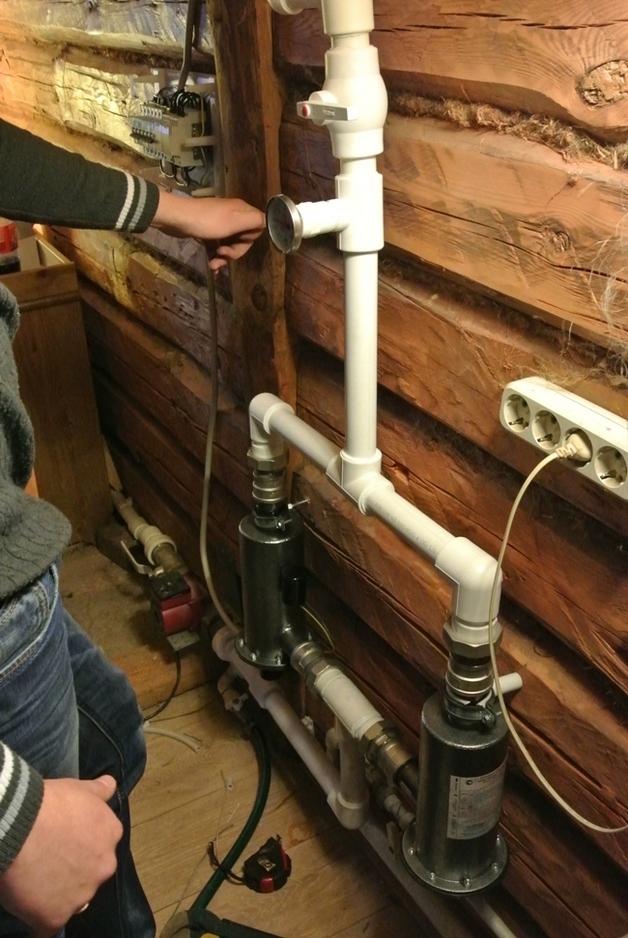 Монтаж систем отопления. Наши работы.